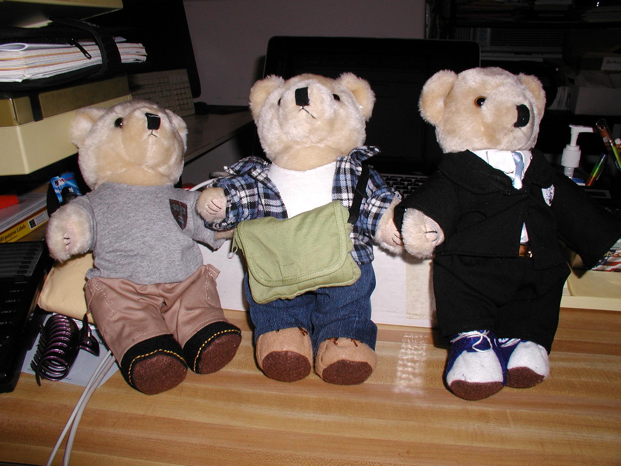 Magic University teddy bears