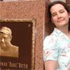 Cecilia Tan at the old Yankee Stadium