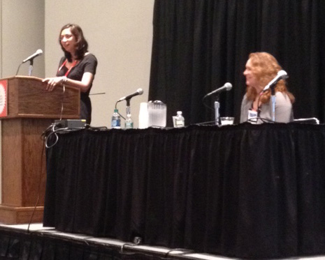 Fauzia Burke of FSB Associates and Kristen Frantz of Berrett-Koehler Publishers