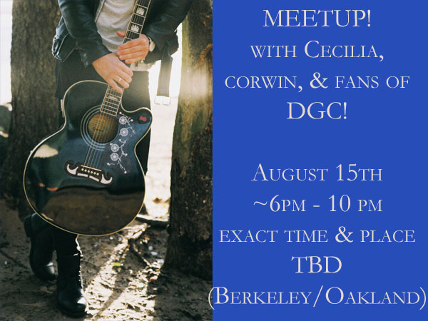 Banner for the DGC Fan Meetup August 15