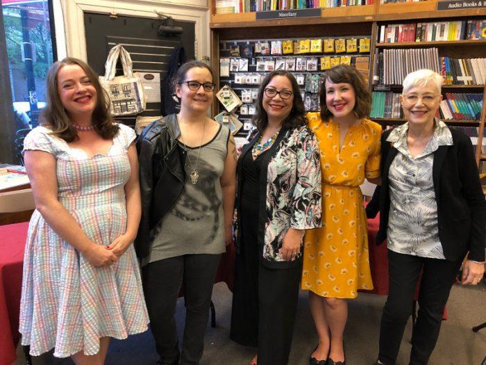 Cecilia Tan, Margaret H. Williston, Satin Russell, Kerry Winfrey, Loretta Chase, Harvard Bookstore