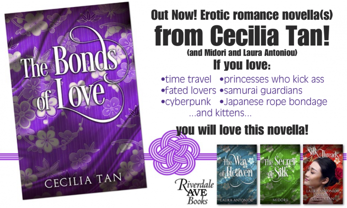 Promo card for Bonds of Love Riverdale Ave Books edition